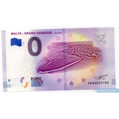 0 Euro Souvenir Malta FEAH-2019-1 - Malta Grand Harbour Valetta