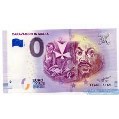 0 Euro Souvenir Malta FEAG-2019-1 - Caravaggio in Malta