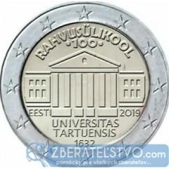 Estónsko 2 Euro 2019 - Univerzita v Tartu