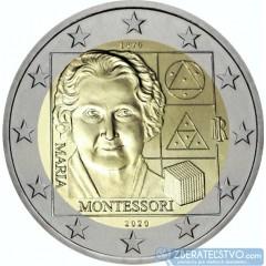 Taliansko - 2 Euro 2020 - Maria Montessori