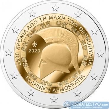 Grécko 2 Euro 2020 - Bitka pri Termopylách
