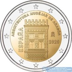 Španielsko - 2 Euro 2020 - Mudejárska architektúra Aragónie