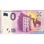 0 Euro Souvenir Slovensko EECS 2020-1 - Stredoslovenské múzeum