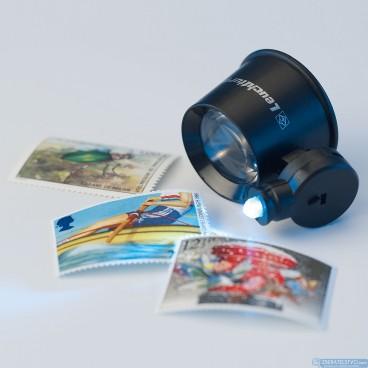 LED lupa klenotnícka - 5x zoom - LU70LED