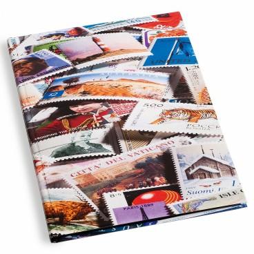 Album na známky STAMP S16 - 16 strán čierne listy A4