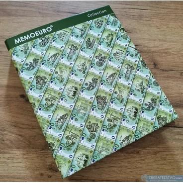 Album na MEMOEURO suveníry - zakladač bez obalov
