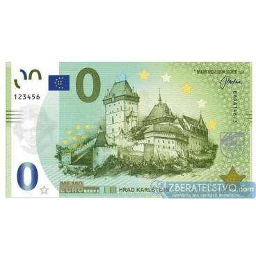 MEMOEURO suvenír Česká Republika - Karlštejn