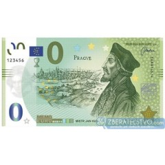 MEMOEURO suvenír Česká Republika - Jan Hus