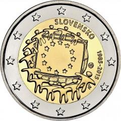 Slovensko - 2 Euro - 2015 - 30. výročie vlajky EU