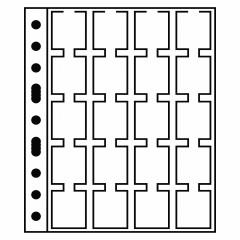 Listy GRANDE - na kartónové rámčeky na mince M 20 K