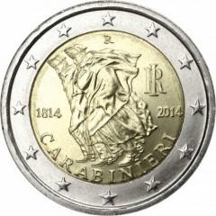 Taliansko 2 Euro 2014 - Carabinieri