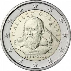 Taliansko 2 Euro 2014 - Galileo Galilei