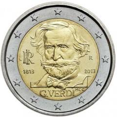 Taliansko 2 Euro 2013 - Giuseppe Verdi
