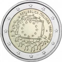 Taliansko - 2 Euro - 2015 - 30. výročie vlajky EU