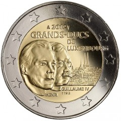 Luxembursko - 2 Euro 2012 - veľkovojvoda Viliam IV.