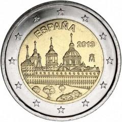 Španielsko - 2 Euro 2013 - kláštor El Escorial