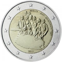Malta - 2 Euro 2013 - Autonómna vláda