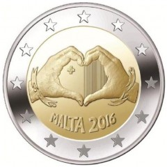 Malta - 2 Euro 2016 - Láska - predpredaj