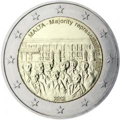 Malta - 2 Euro 2012 - Väčšina v rade zástupcov