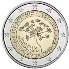Slovinsko - 2 Euro 2010 - Botanická záhrada v Ľubľane