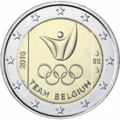 Belgicko - 2 Euro - 2016 - Olympijské hry