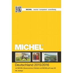 Katalóg známok MICHEL - Nemecko 2015/2016