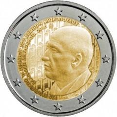 Grécko - 2 Euro - 2016 - Dimitri Mitropoulos
