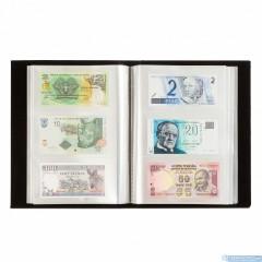 Album na bankovky - na 300 ks bankoviek - čierny