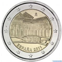 Španielsko - 2 Euro 2011 - Leví dvor v Granade