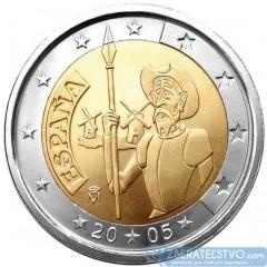 Španielsko - 2 Euro 2005 - Don Quijote
