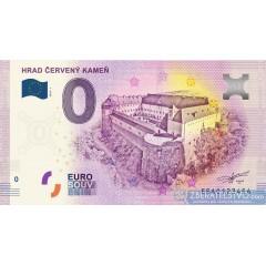 0 Euro Souvenir Slovensko 2018 Červený Kameň
