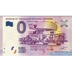 0 Euro Souvenir Slovensko EEAA-2018-2 - Múzeum SNP v Banskej Bystrici - Pancierové vlaky