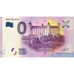 0 Euro Souvenir Slovensko EEAB-2018-1 - Bratislava - Bratislavský hrad