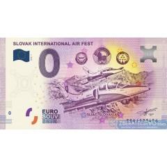 0 Euro Souvenir Slovensko EEAJ-2018-1 - Sliač - SIAF