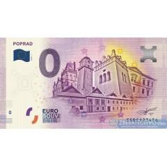 0 Euro Souvenir Slovensko EEBC-2018-1 - Poprad