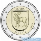 Lotyšsko - 2 Euro 2018 - Zemgale