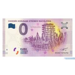 0 Euro Souvenir Slovensko EEAZ-2018-1 - CHODNÍK KORUNAMI STROMOV BACHLEDKA